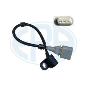 Sensor, posición arbol de levas Número de conexiones: 3, Long. cable: 320mm con OEM número 03G 957 147 B