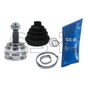 GSP  802009 Gelenksatz, Antriebswelle Außenverz.Radseite: 25, Innenverz. Radseite: 28, Zähnez. ABS-Ring: 44