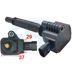 Zündspule Anschlussanzahl: 3 mit OEM-Nummer 55234131