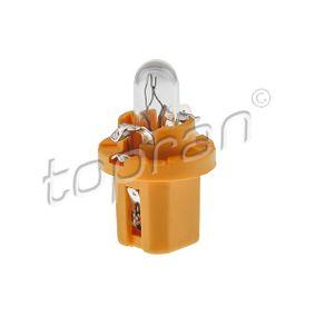 TOPRAN  111 571 Glühlampe, Instrumentenbeleuchtung