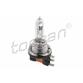 Bulb, spotlight H15, 55/15W, 12V, Halogen 116 314