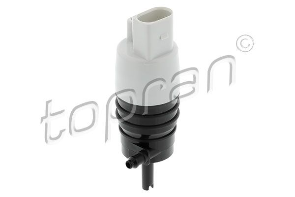 TOPRAN  409 847 Water Pump, window cleaning Number of Poles: 2-pin connector