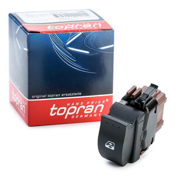 Interruptor, elevalunas TOPRAN 702105 conocimiento experto