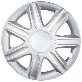 Wheel covers Quantity Unit: Kit, Silver RUBIN14