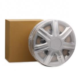Wheel covers Quantity Unit: Kit, Silver RUBIN16