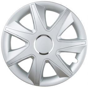 Hjulkapsler Mengdeenhet: Sett, sølv RUN15