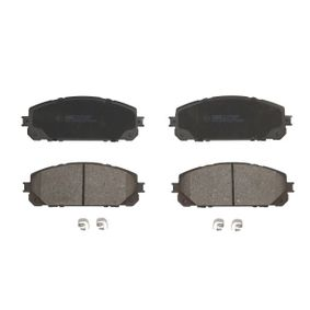 Bremsbelagsatz, Scheibenbremse Höhe: 62,2mm, Dicke/Stärke: 17,5mm mit OEM-Nummer 68212 327AB