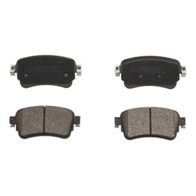 Brake Pad Set, disc brake Height: 53,4mm, Thickness: 17,5mm with OEM Number 16 179 368 80