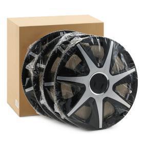 Proteções de roda Unidade de quantidade: Jogo, preto/prateado RUNCZSR14