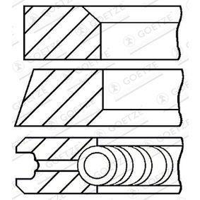 GOETZE ENGINE  08-109511-00 Kolbenringsatz