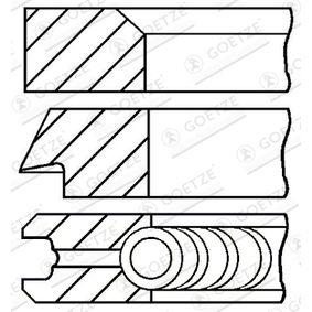 Kolbenringsatz mit OEM-Nummer 026 198 151 A