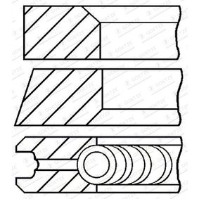Kolbenringsatz mit OEM-Nummer 7701470248