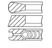 Kolbenringe FORD Focus 2 Schrägheck (DA_, HCP, DP) 2005 Baujahr 08-114700-00 Zyl.Bohr.: 85,00mm