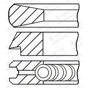 GOETZE ENGINE  08-123300-00 Kolbenringsatz