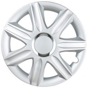 Hjulkapsler Mengdeenhet: Sett, sølv SAMOA14