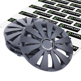LEOPLAST Wheel trims SKY CZ MAT 15