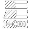 GOETZE ENGINE Aros de pistón RENAULT Calibre.cil.: 76,00mm