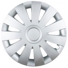 LEOPLAST  STRIKE 14 Hjulkapsler Mængdeenhed: sæt, sølv