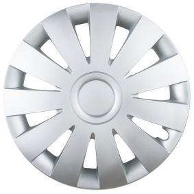 Wheel covers Quantity Unit: Kit, Silver STRIKE14