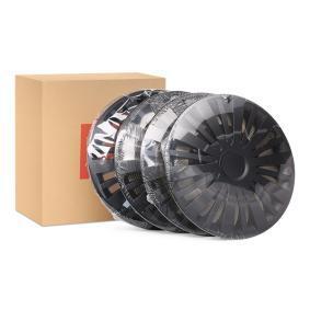 Wheel covers Quantity Unit: Kit, Black VEGASCZ15