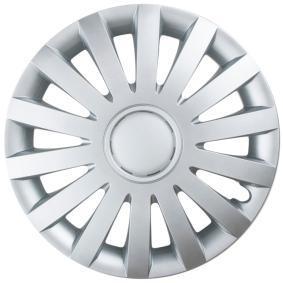 Proteções de roda Unidade de quantidade: Jogo, côr de prata WIND13