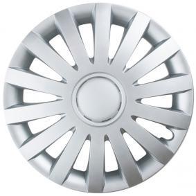 LEOPLAST  WIND 15 Hjulkapsler Mængdeenhed: sæt, sølv