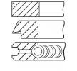 Aros de pistón GOETZE ENGINE 146274 Calibre.cil.: 82,00mm