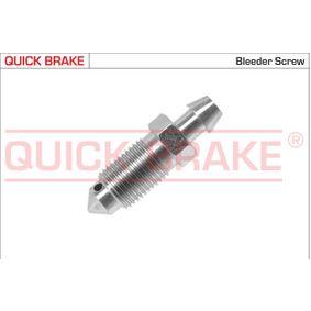 Entlüfterschraube / -ventil mit OEM-Nummer 41128AW70A