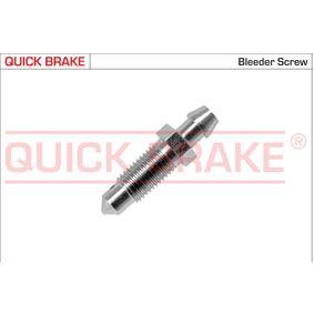 Entlüfterschraube / -ventil mit OEM-Nummer B00133691