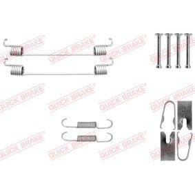 Zubehörsatz, Bremsbacken 105-0040 TWINGO 2 (CN0) 1.5 dCi Bj 2010
