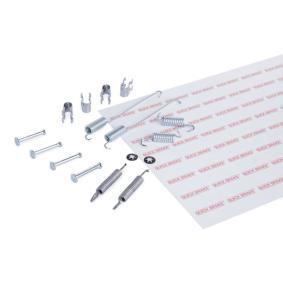 Accessory Kit, brake shoes 105-0739 PUNTO (188) 1.2 16V 80 MY 2004