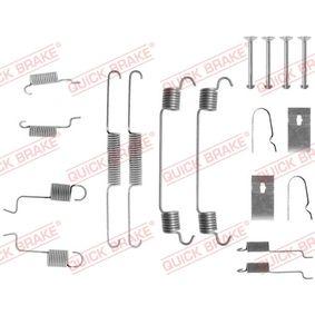 Zubehörsatz, Bremsbacken 105-0742 323 P V (BA) 1.3 16V Bj 1998