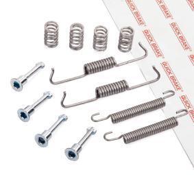Zubehörsatz, Feststellbremsbacken 105-0841 X3 (E83) 2.0 d Bj 2006
