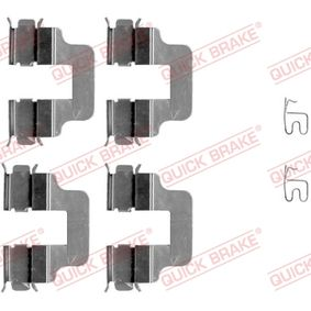2009 Vauxhall Astra H 1.8 Accessory Kit, disc brake pads 109-1245