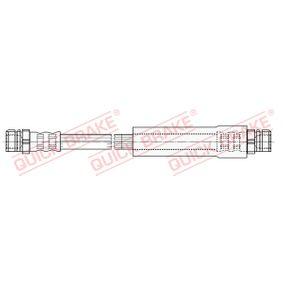Bremsschlauch Länge: 245mm, Gewindemaß 2: M10x1 mit OEM-Nummer 1K0611775B