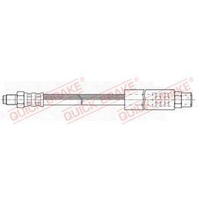 Bremsschlauch Länge: 304mm, Gewindemaß 1: M10x1, Gewindemaß 2: M10x1 mit OEM-Nummer 34 32 1 154 327