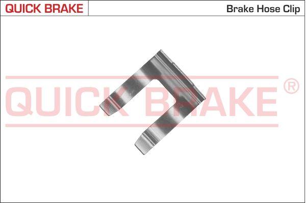 QUICK BRAKE  3208 Halter, Bremsschlauch