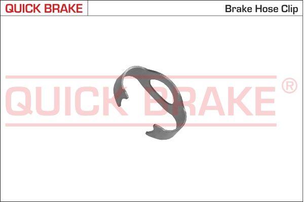 QUICK BRAKE  3212 Halter, Bremsschlauch