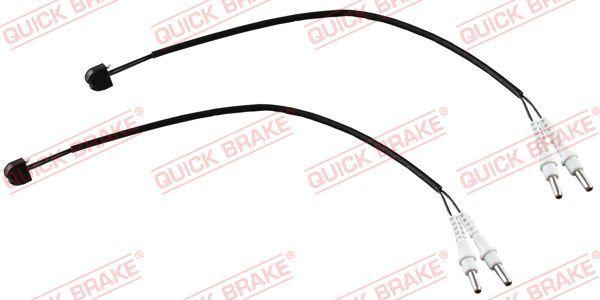 QUICK BRAKE  WS 0279 A Contacto de aviso, desgaste de los frenos Long.: 310mm