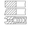Pístní kroužky GOETZE ENGINE 146665 Válcový vývrt: 83,00mm