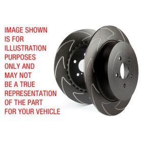 Bremsscheibe Bremsscheibendicke: 19mm mit OEM-Nummer 34 21 1 165 211