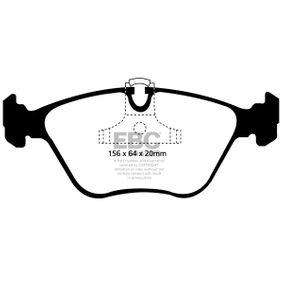 Bremsbelagsatz, Scheibenbremse mit OEM-Nummer 34111164330