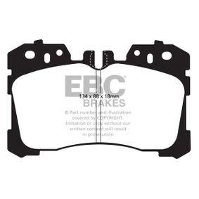 Bremsbelagsatz, Scheibenbremse Breite: 88mm, Dicke/Stärke: 18mm mit OEM-Nummer 044650W110