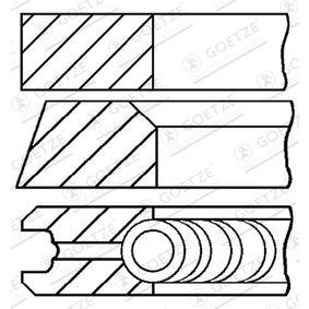 GOETZE ENGINE  08-214400-10 Kolbenringsatz