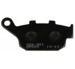 OEM Bremsbelagsatz, Scheibenbremse H1043-AM300 von NHC