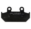 OEM Комплект спирачно феродо, дискови спирачки H1046-AK150 от NHC