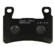 OEM Комплект спирачно феродо, дискови спирачки H1076-AM300 от NHC
