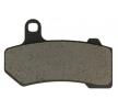 OEM Bremsbelagsatz, Scheibenbremse HD6018-AK150 von NHC