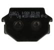 OEM Bremsbelagsatz, Scheibenbremse K5020-AK150 von NHC