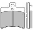 OEM Bremsbelagsatz, Scheibenbremse O7060-CU7 von NHC